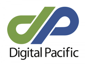 Digital Pacific Logo Square Full Colour without Gradient