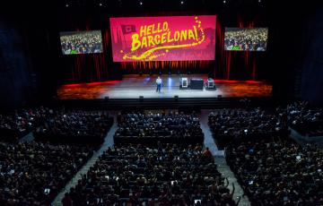 Mark Collier Hello Barcelona