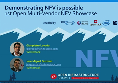 Demonstrating NFV is possible: 1st Open Multi-Vendor NFV Showcase
