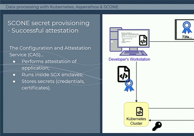 Secure Data Analysis with OpenStack and Asperathos